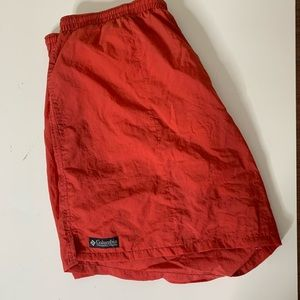 Mens Columbia Swim Trunks Size Large